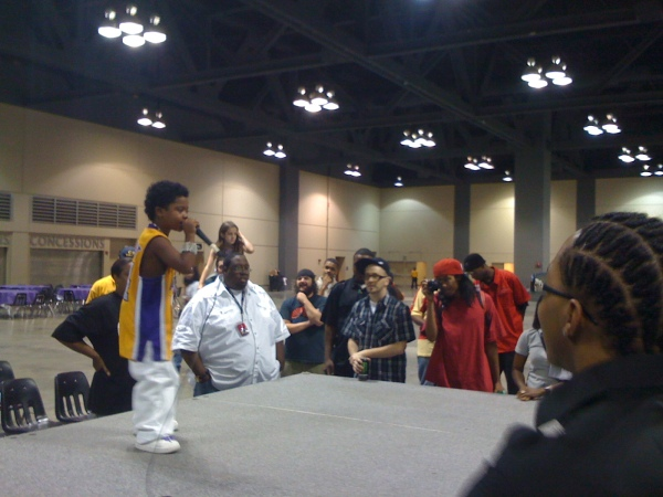 P Nut at Memphis Hip Hop Expo